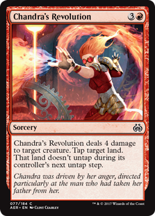 Chandra's Revolution (Foil)