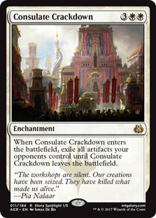 Consulate Crackdown (Foil)