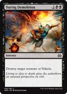 Daring Demolition (Foil)