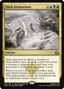Dark Intimations (Foil)