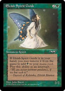 Elvish Spirit Guide