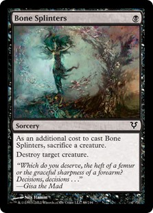 Bone Splinters (Foil)
