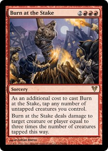 Burn at the Stake (Foil)
