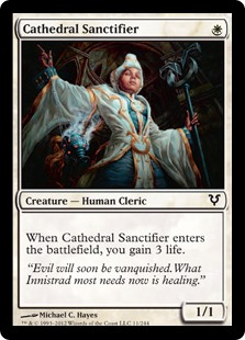 Cathedral Sanctifier (Foil)