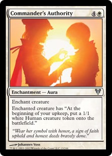 Commander's Authority (Foil)