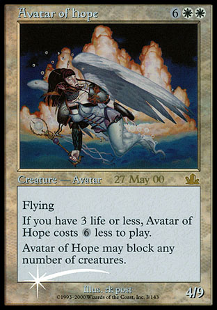 Avatar of Hope - Prophecy Prerelease Promo