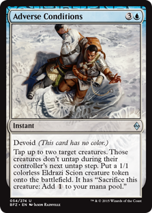 Adverse Conditions (Foil)