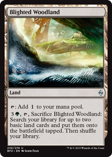 Blighted Woodland (Foil)