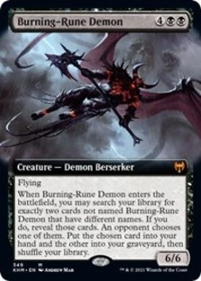 Burning Rune-Demon (Extended Art)