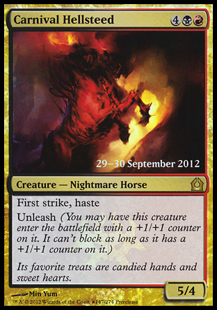 Carnival Hellsteed - Return to Ravnica Prerelease Promo
