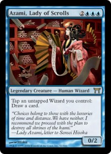 Azami, Lady of Scrolls (Foil)