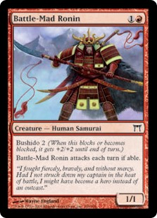 Battle-Mad Ronin (Foil)