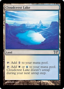 Cloudcrest Lake (Foil)