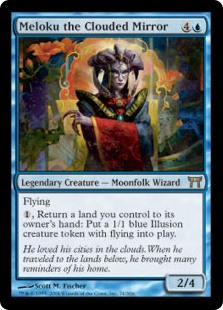 Meloku the Clouded Mirror (Foil)
