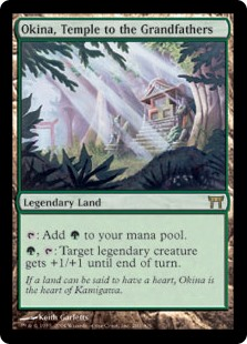 Okina, Temple to the Grandfathers (Foil)