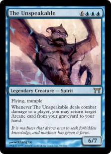The Unspeakable (Foil)