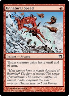 Unnatural Speed (Foil)