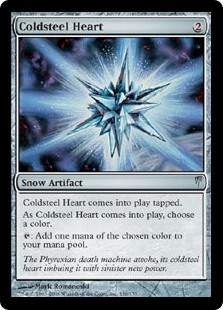 Coldsteel Heart (Foil)