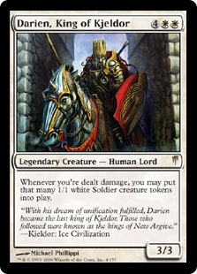 Darien, King of Kjeldor (Foil)