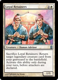 Loyal Retainers - Commander's Arsenal Promo