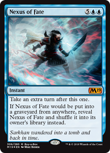 Nexus of Fate - Core Set 2019 Buy-a-box Promo