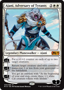 Ajani, Adversary of Tyrants (Foil)