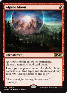 Alpine Moon (Foil)