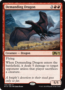 Demanding Dragon (Foil)
