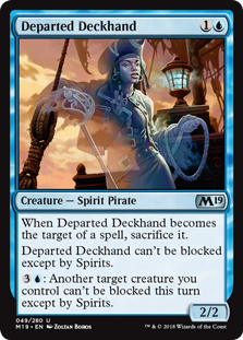 Departed Deckhand (Foil)