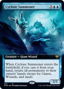 Cyclone Summoner (Extended Art)