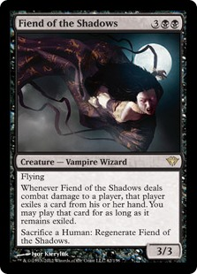 Fiend of the Shadows (Foil)