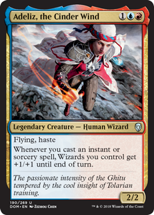 Adeliz, the Cinder Wind (Foil)