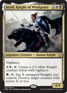 Aryel, Knight of Windgrace (Foil)