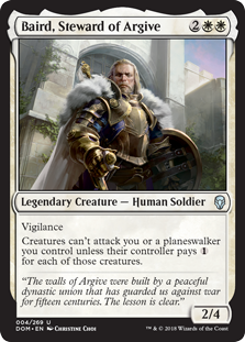 Baird, Steward of Argive (Foil)