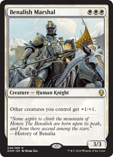Benalish Marshal (Foil)