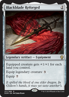 Blackblade Reforged (Foil)