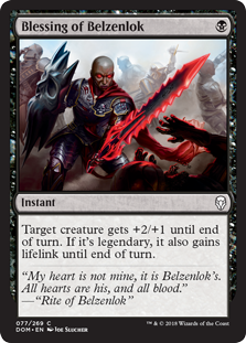Blessing of Belzenlok (Foil)
