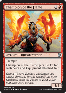 Champion of the Flame (Foil)