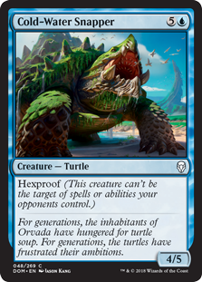 Cold-Water Snapper (Foil)