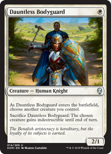 Dauntless Bodyguard (Foil)