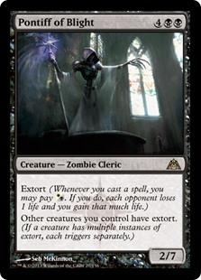Pontiff of Blight (Foil)