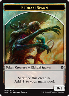 Eldrazi Spawn Token (Briclot)