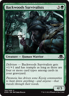 Backwoods Survivalists (Foil)
