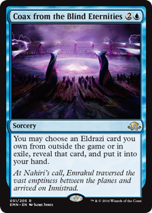 Coax from the Blind Eternities (Foil)