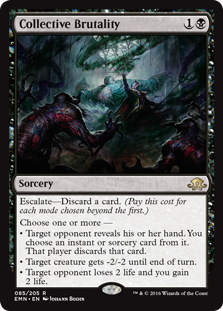Collective Brutality (Foil)