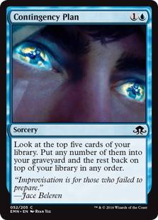 Contingency Plan (Foil)