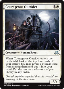 Courageous Outrider (Foil)