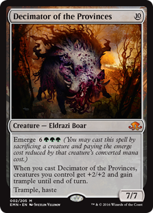 Decimator of the Provinces (Foil)