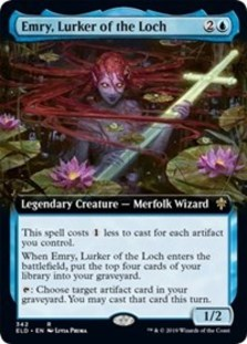 Emry, Lurker of the Loch (Extended Art Foil)