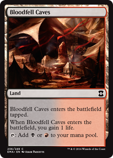 Bloodfell Caves (Foil)